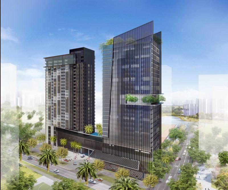 Dự án căn hộ cao ốc văn phòng 152 Điện Biên Phủ - Quận Bình Thạnh