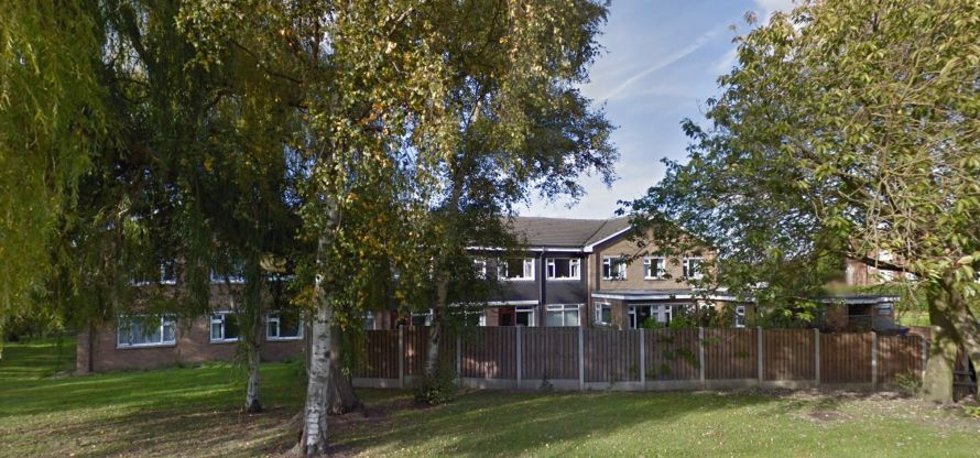 photo outisde view of care home