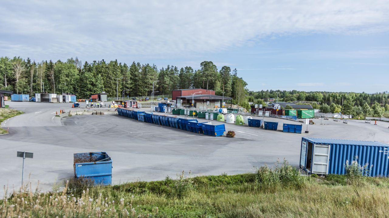 Till återvinningscentralen (ÅVC)