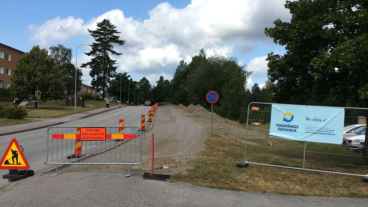 Ny gång- och cykelväg