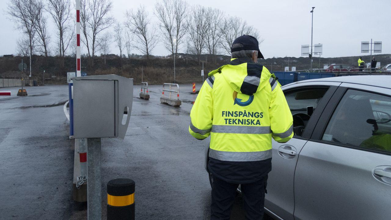 Premiär för vårt nya inpasseringssystem på Sjömansäng