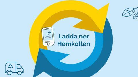 Nu finns vår app Hemkollen att ladda ner!