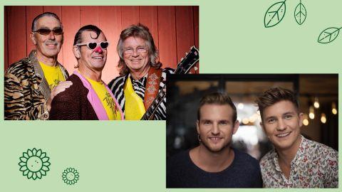Ta del av vinsten – konsert med Electric Banana Band och bröderna Norberg