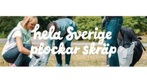 Hela Sverige plockar skräp!