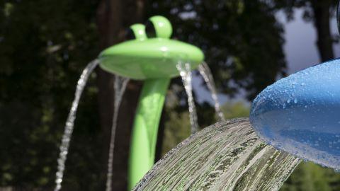 Vattenleken i Bruksparken är klar
