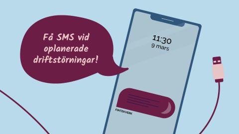 Glöm inte att registrera ditt mobilnummer!