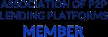We are a member of Association Of P2P Lending Platforms