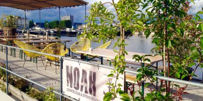 NOAH Lunch bar & event space on the water.