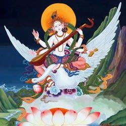 Saraswati by Anna Bhee