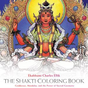 Cover of The Shakti Coloring Book by Ekabhumi Charles Ellik (2015, Sounds True).