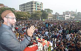 झारखंड चुनाव में कूदे ओवैसी : कांग्रेस से पूछा- बाबरी मस्जिद गिराने वाली शिवसेना से क्यों किया निकाह
