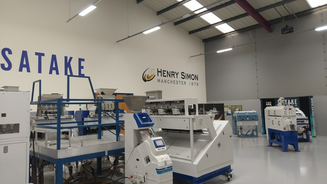 Upgraded Satake Demonstration Facility