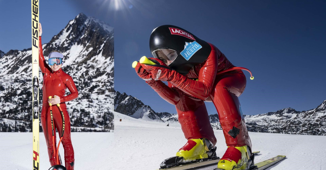 Schmidhofer breaks record at Speed Skiing World Championships