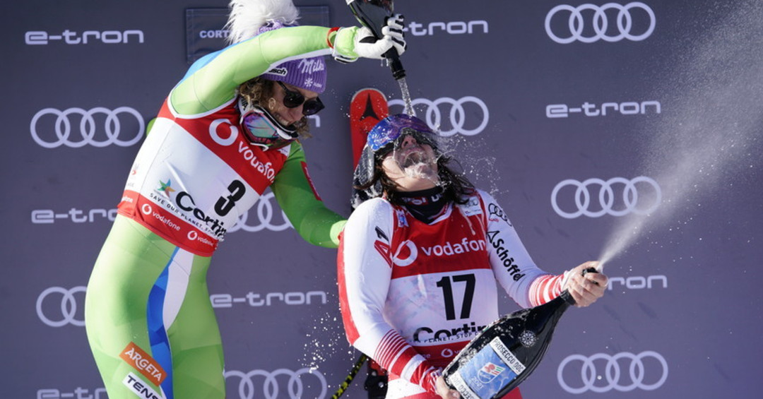Women's podiums best moment