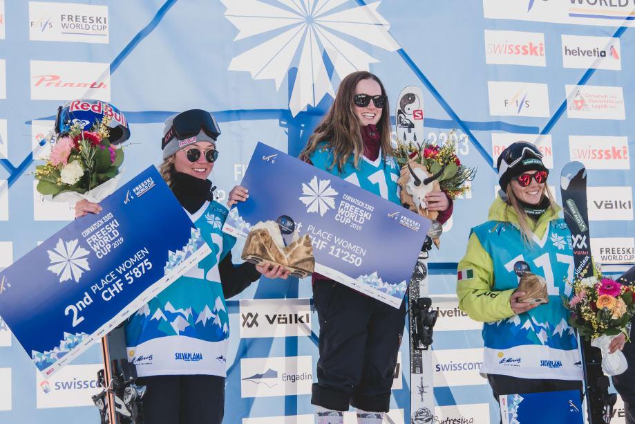 FIS Freeski World Cup season caps off in Corvatsch