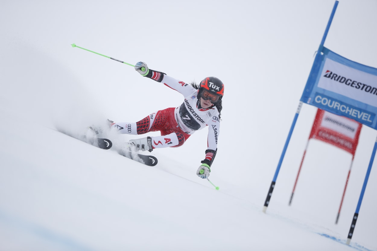 Image result for Vlhova and Shiffrin tie for GS win in Maribor