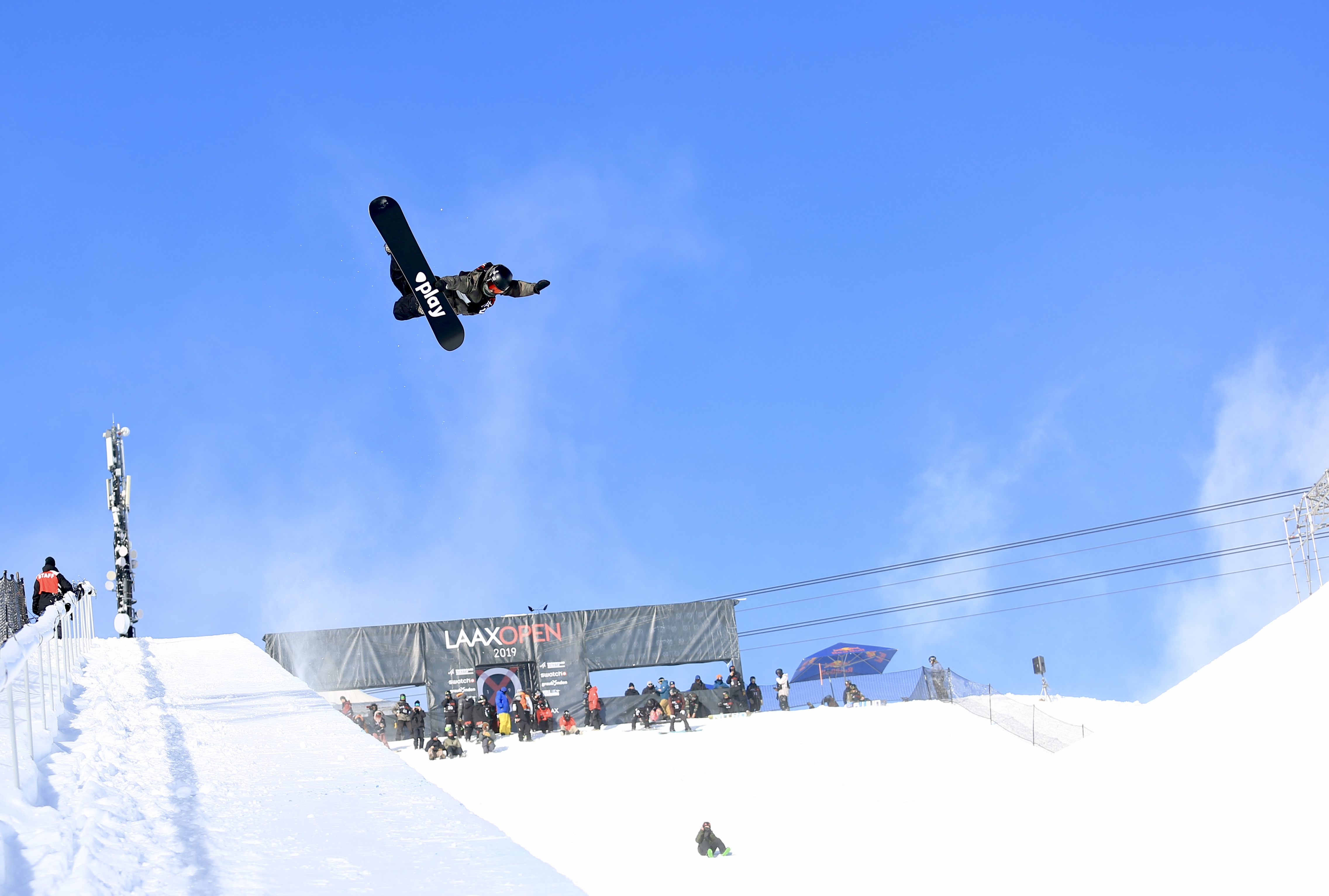 Laax Open set for slopestyle and halfpipe World Cups