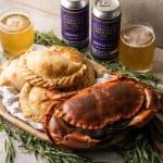 crab pasty box
