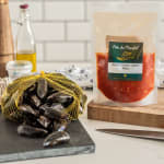 mussels spicy tomato