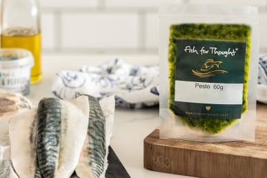 mackerel pesto