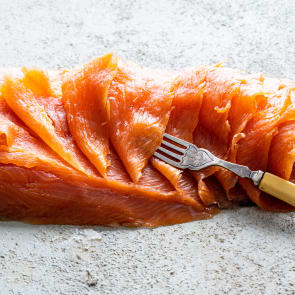 smoked salmon 1kg d cut