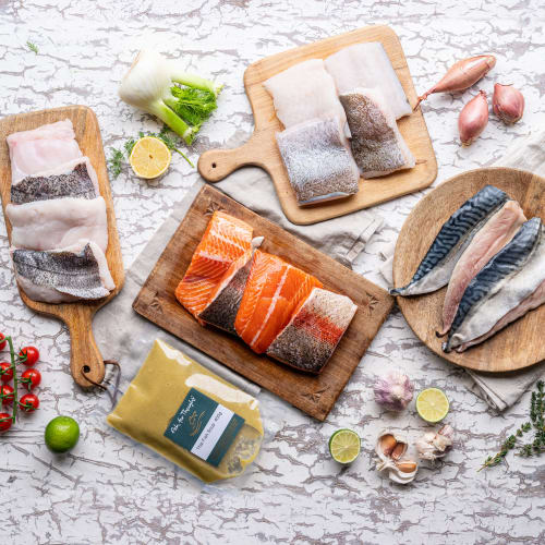 Fish fitness box for home delivery