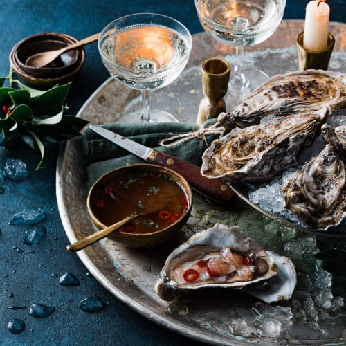 Oysters & Mignonette
