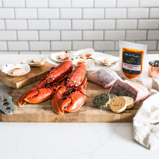 FFT Summer Seafood Barbecue Box