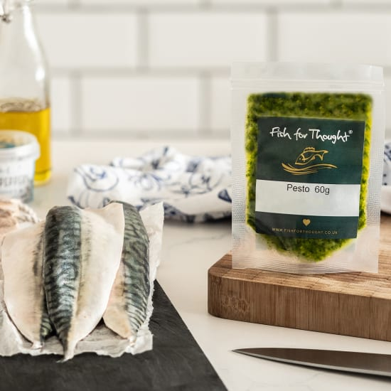 mackerel pesto