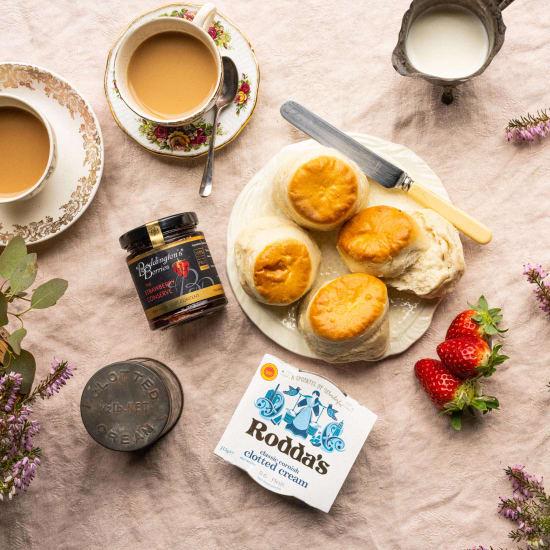Proper Cornish Cream Tea