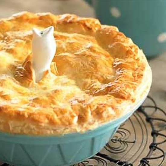 Fish Pie With Puff Pastry