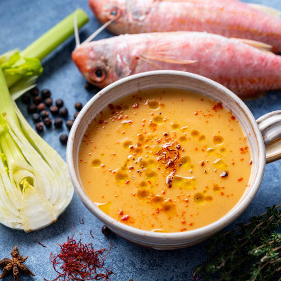 red mullet soup