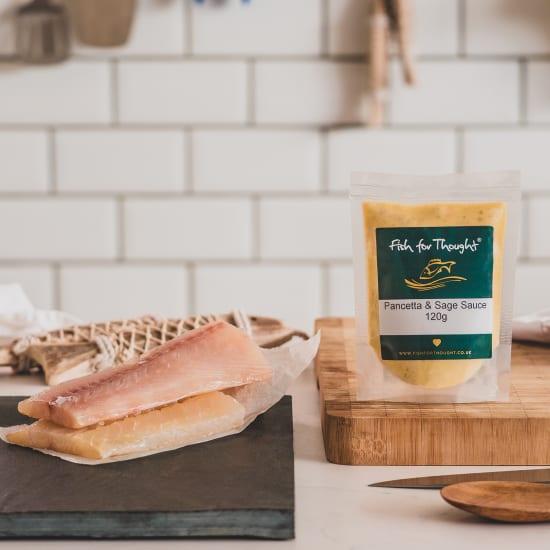 haddock pancetta