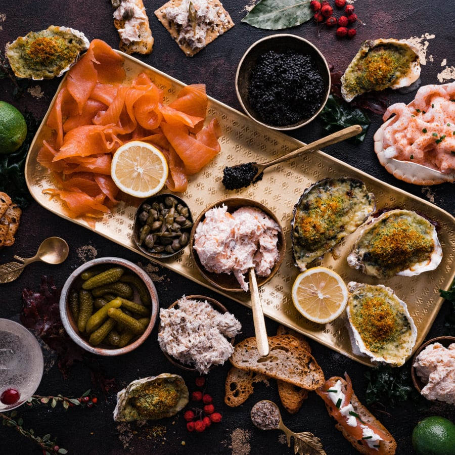 Christmas Seafood Buffet Box