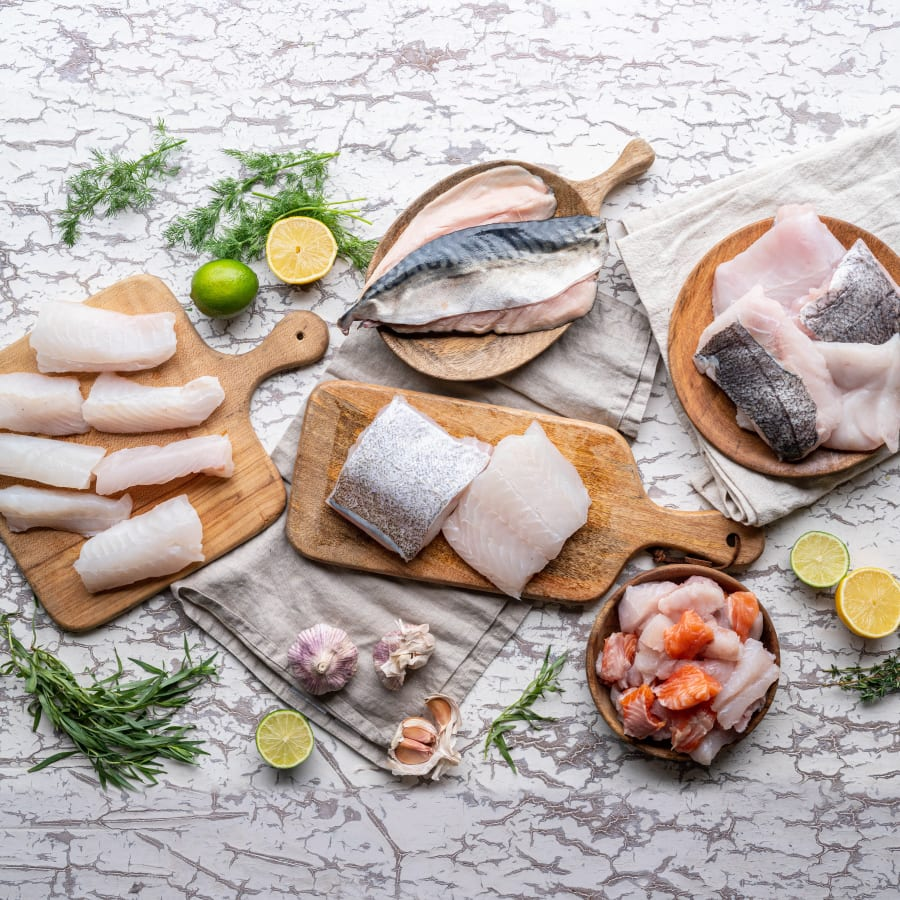 Cornish Fresh Fish Fillet Box