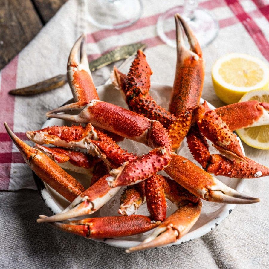 Cornish King Crab Claws