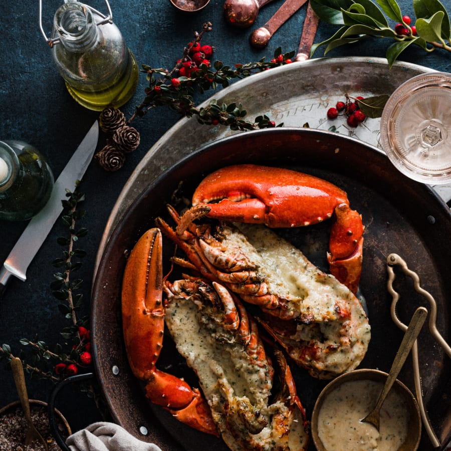 lobster thermidor for 4
