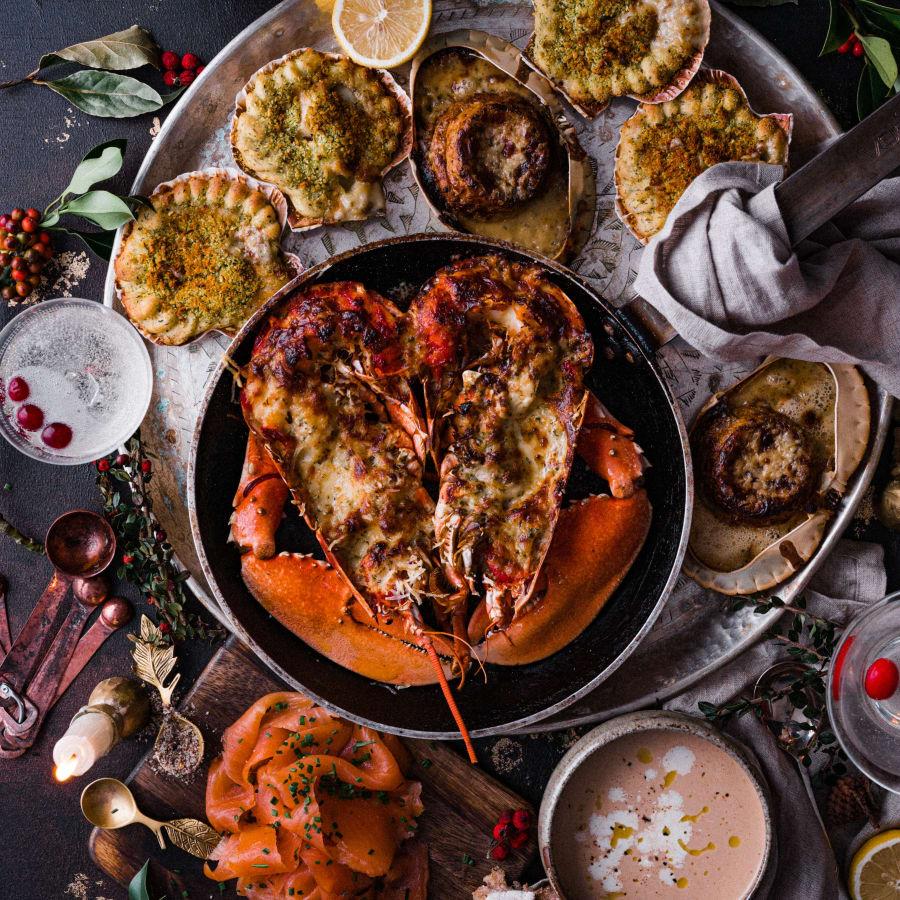 fft luxury christmas seafood hamper