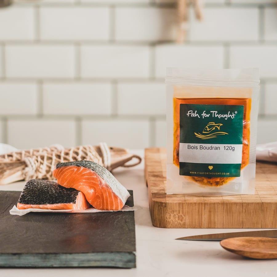 salmon bois