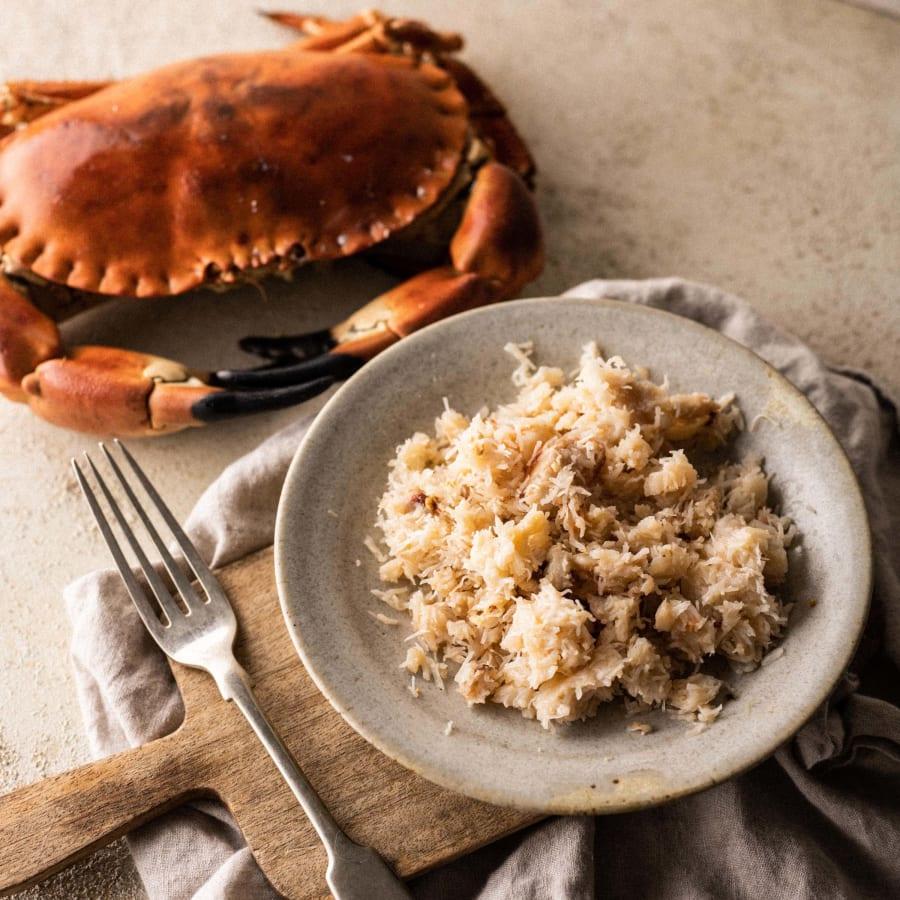 white crabmeat
