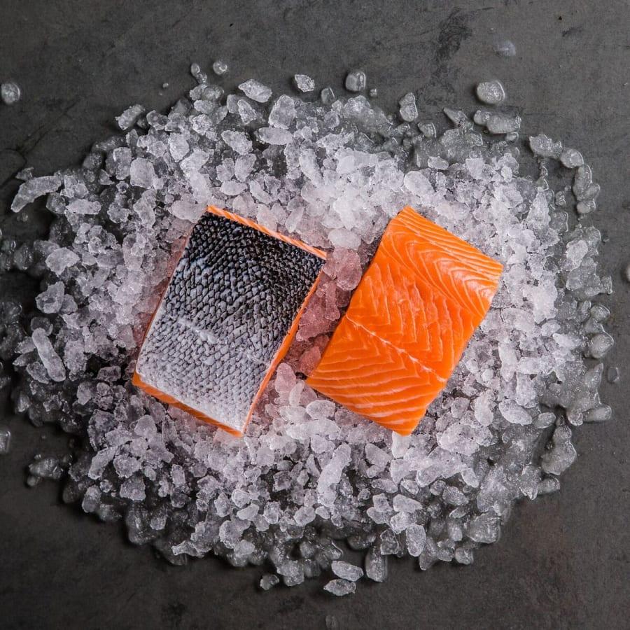 Salmon Fillet Portions (Frozen)