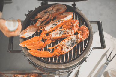 Fish for Thought's Lobster on the Barbecue