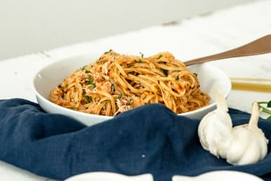 Cornish Crab Linguine