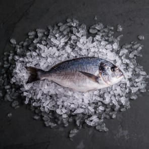 Farmed Sea Bream, Scaled & Gutted (Frozen)
