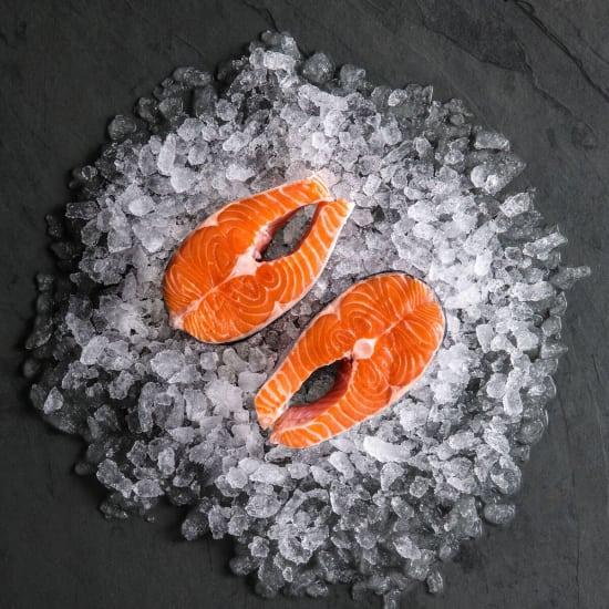 Salmon Steaks (Frozen)