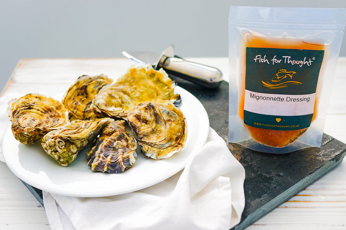 Oysters and Mignonette Dressing Kit