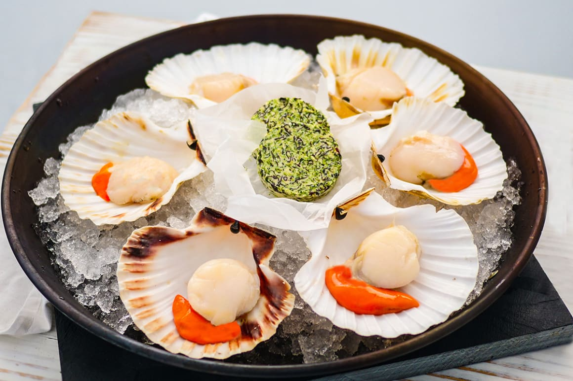 Scallops and Seaweed Butter Kit