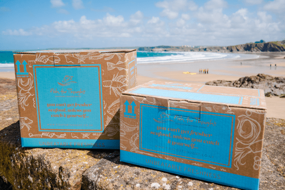 Fish for Thought Recyclable Packaging