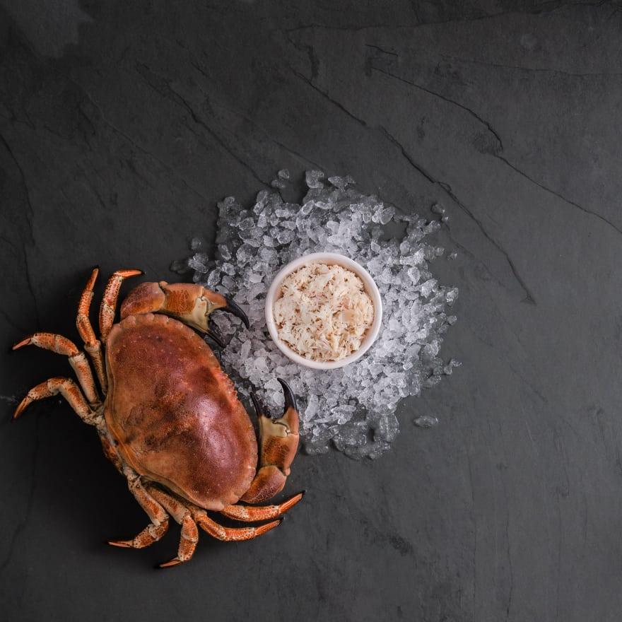 Hand Picked Cornish White Crab Meat
