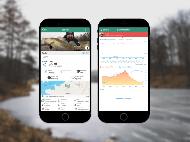The Mobile Fishing Log | FishFriender